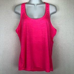 Athleta Tank Top Racerback Activewear Yoga Pink XL